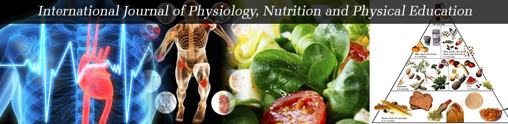International Journal of Physiology, Nutrition and Physical Education